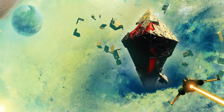 No Man\'s Sky Game Informer Centre Universe