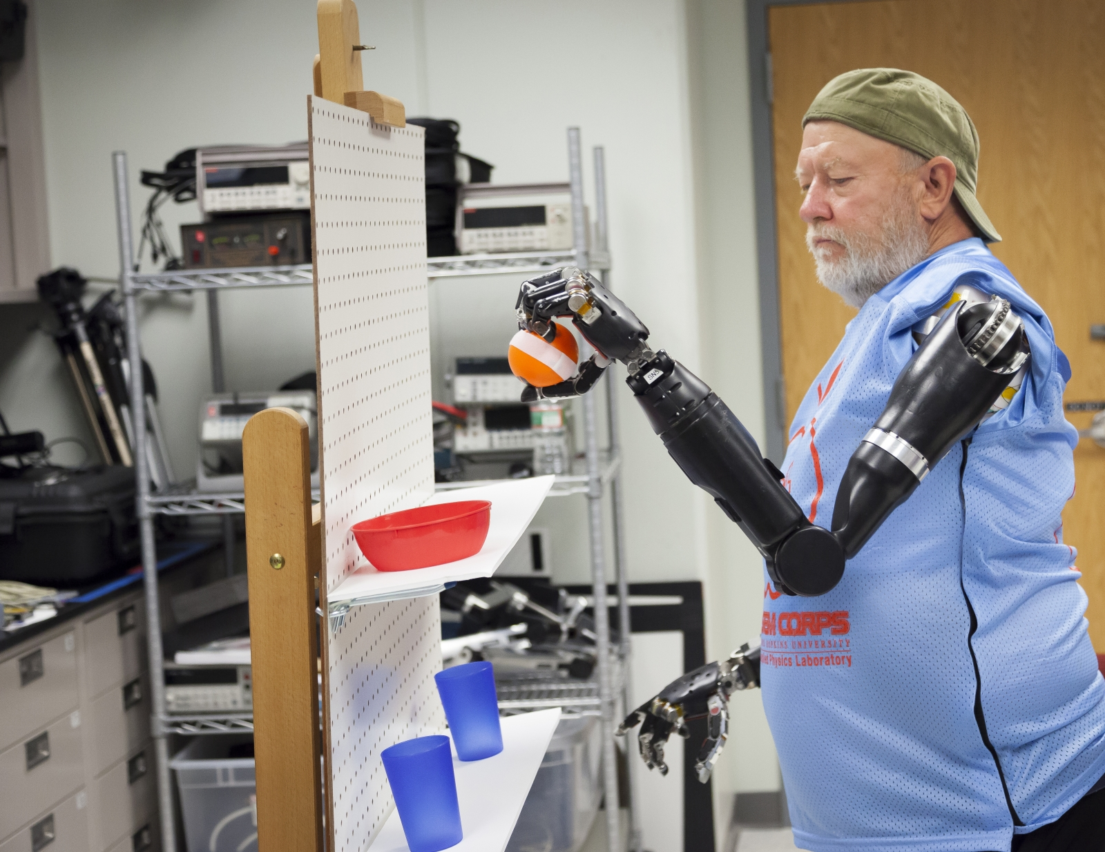 mind controlled prosthetics
