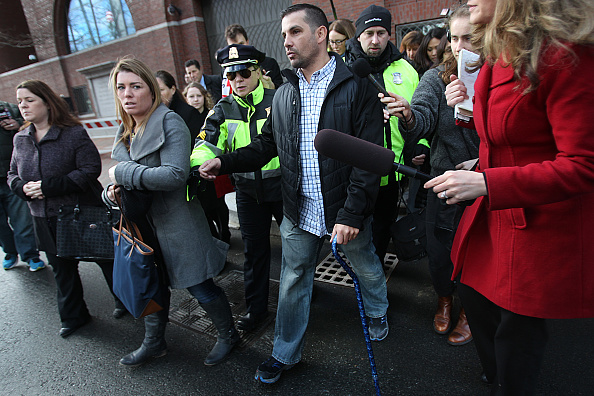 Boston Marathon bombing victim Marc Fucarile