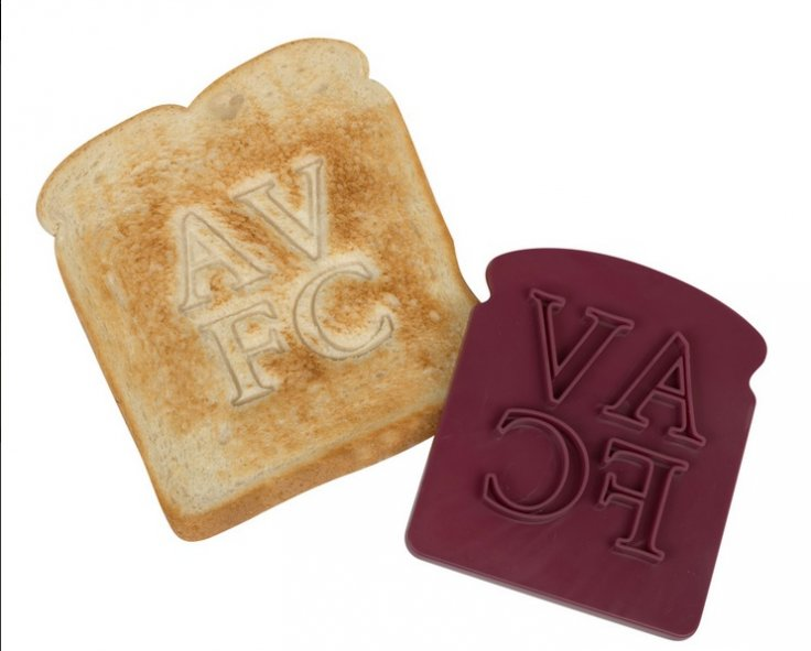 Aston Villa bread press