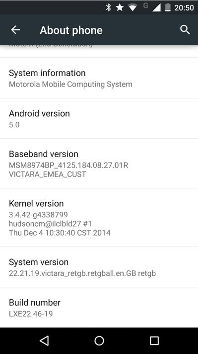 Moto X (2nd Gen)