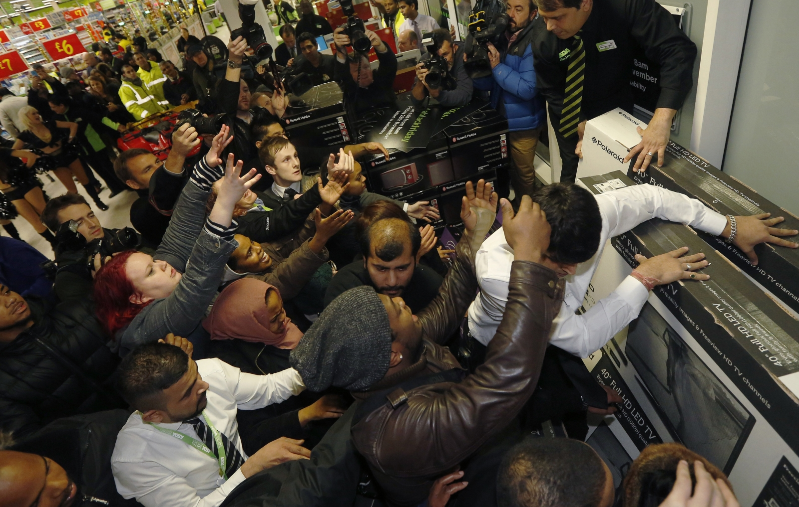 Hordes of shoppers are expected on Panic Saturday