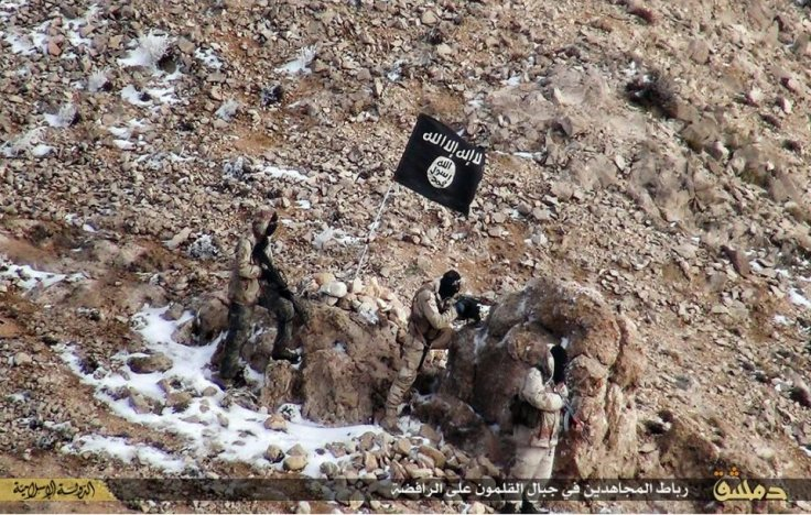 IS fighter performs guard duty in Qalamoun