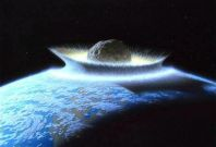 If an asteroid crashed into  the Pacific Ocean, it could generate a tsunami that devastated the west coast of North America