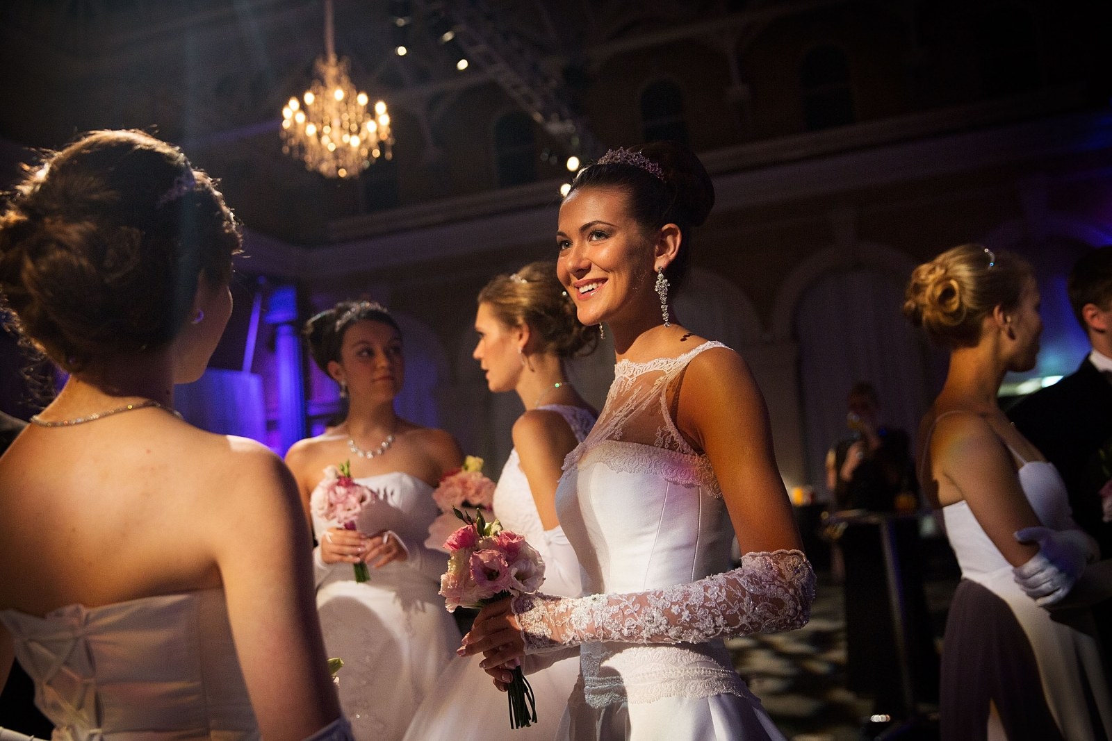 Debutantes at the Russian Ball in London, which aims to recreate the splendour of pre-Revolutionary Russian social functions. (Getty)