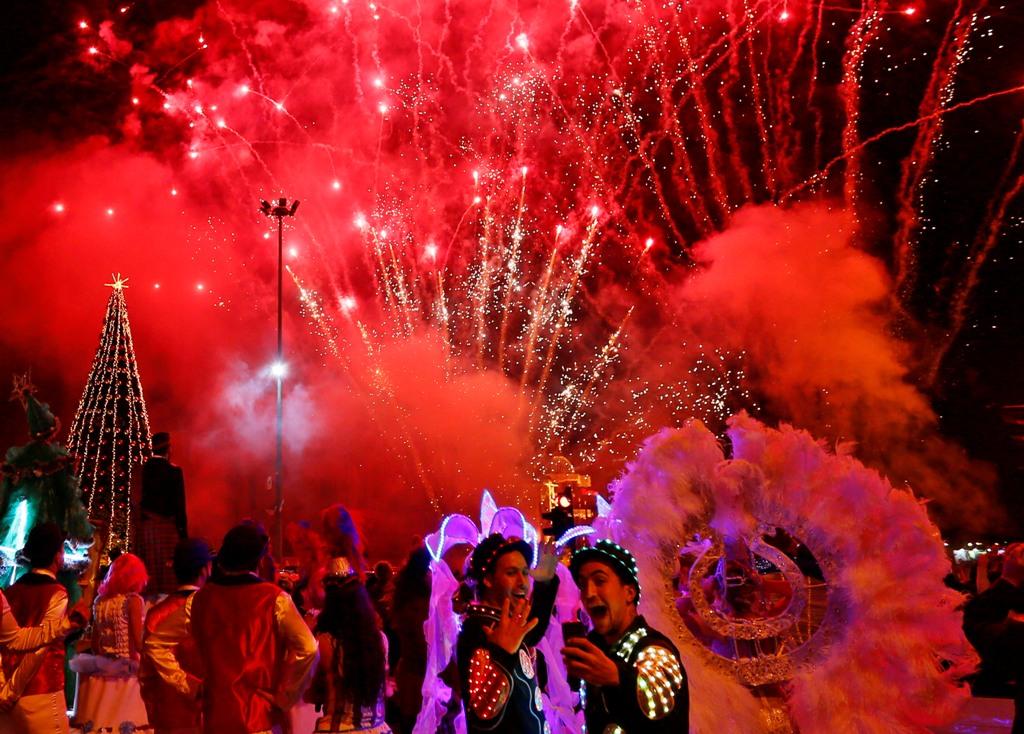 Fireworks in Lebanon