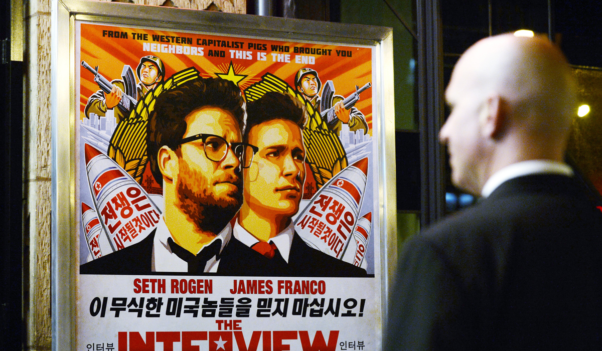 The Interview Anonymous sony hack