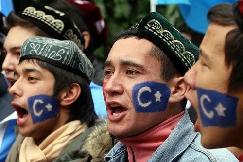 Uighurs in northwestern China