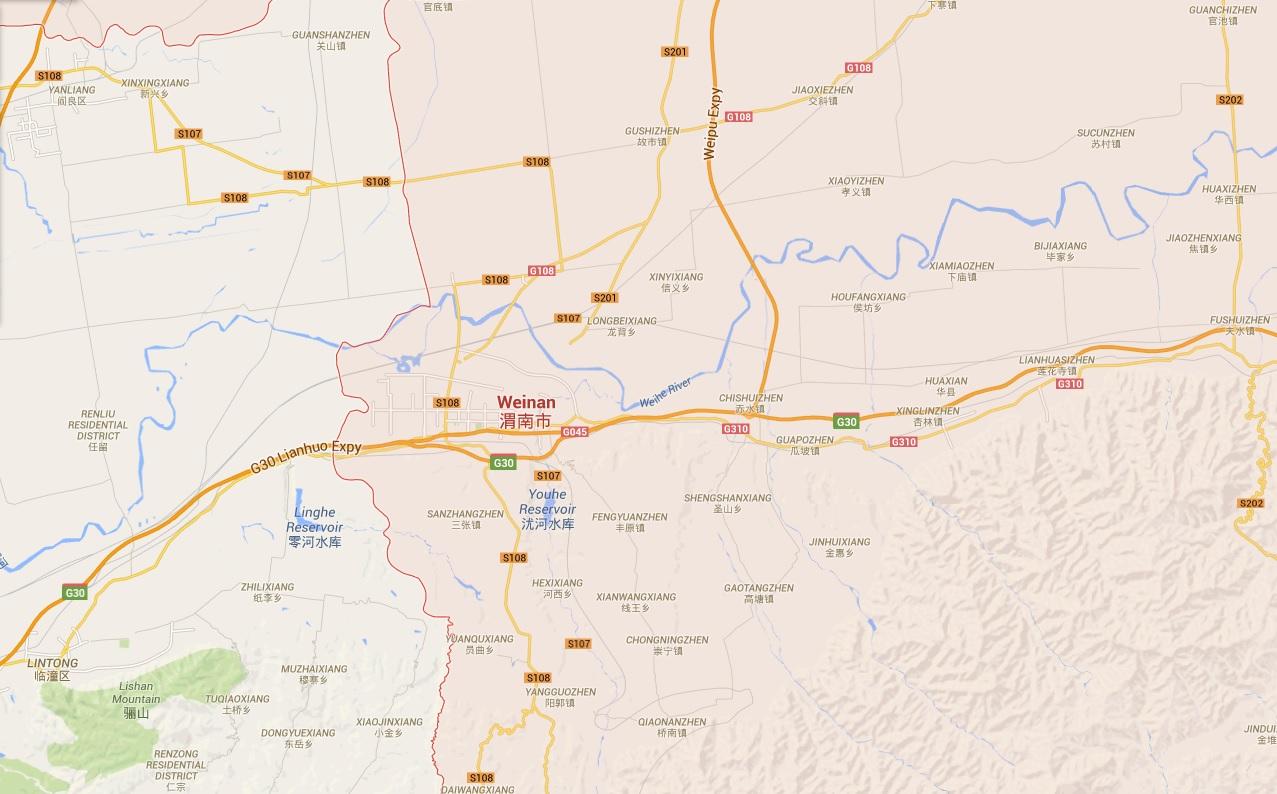 Weinan City