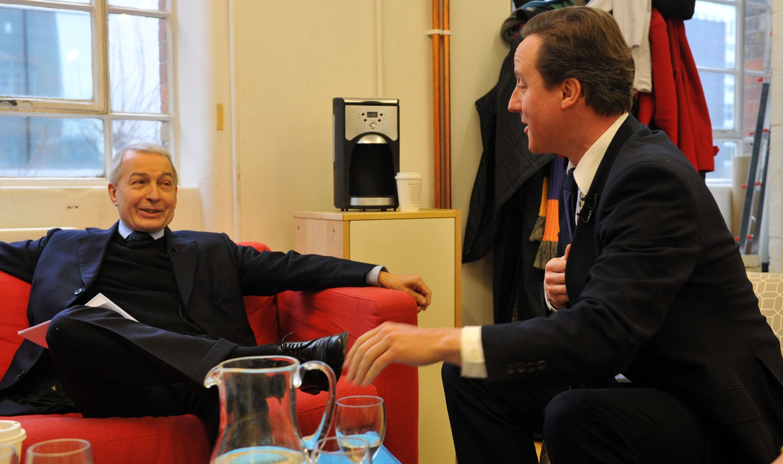 Frank Field and David Cameron