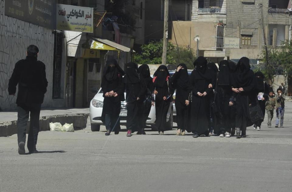 Raqqa girls