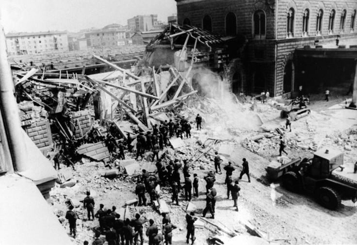 neo fascists italy bologna railway bombing - Christmas Bombings