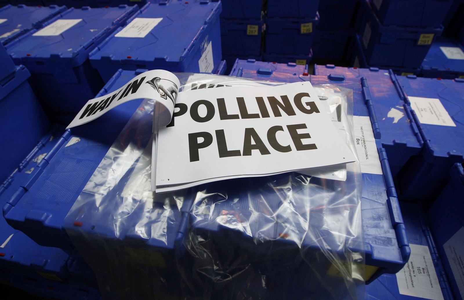 Polling box