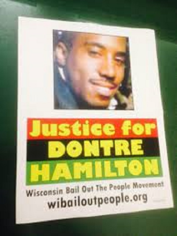 Justice for Dontre Hamilton poster