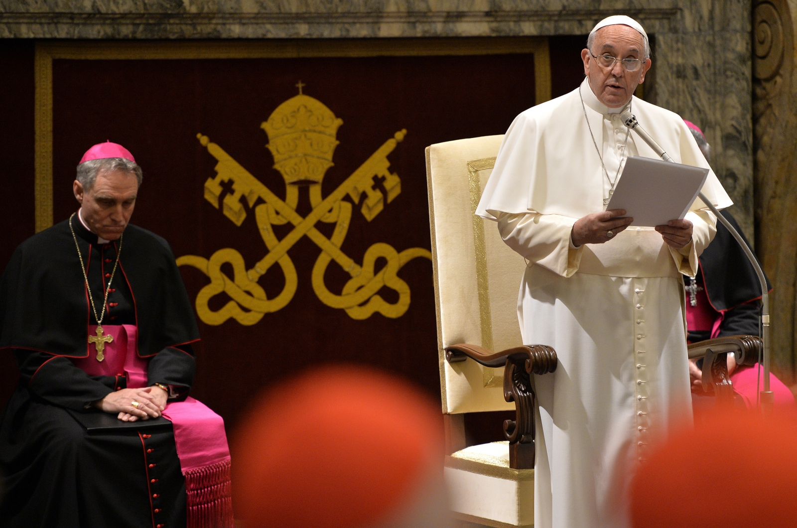Pope Francis Christmas greetings  Curia Vatican