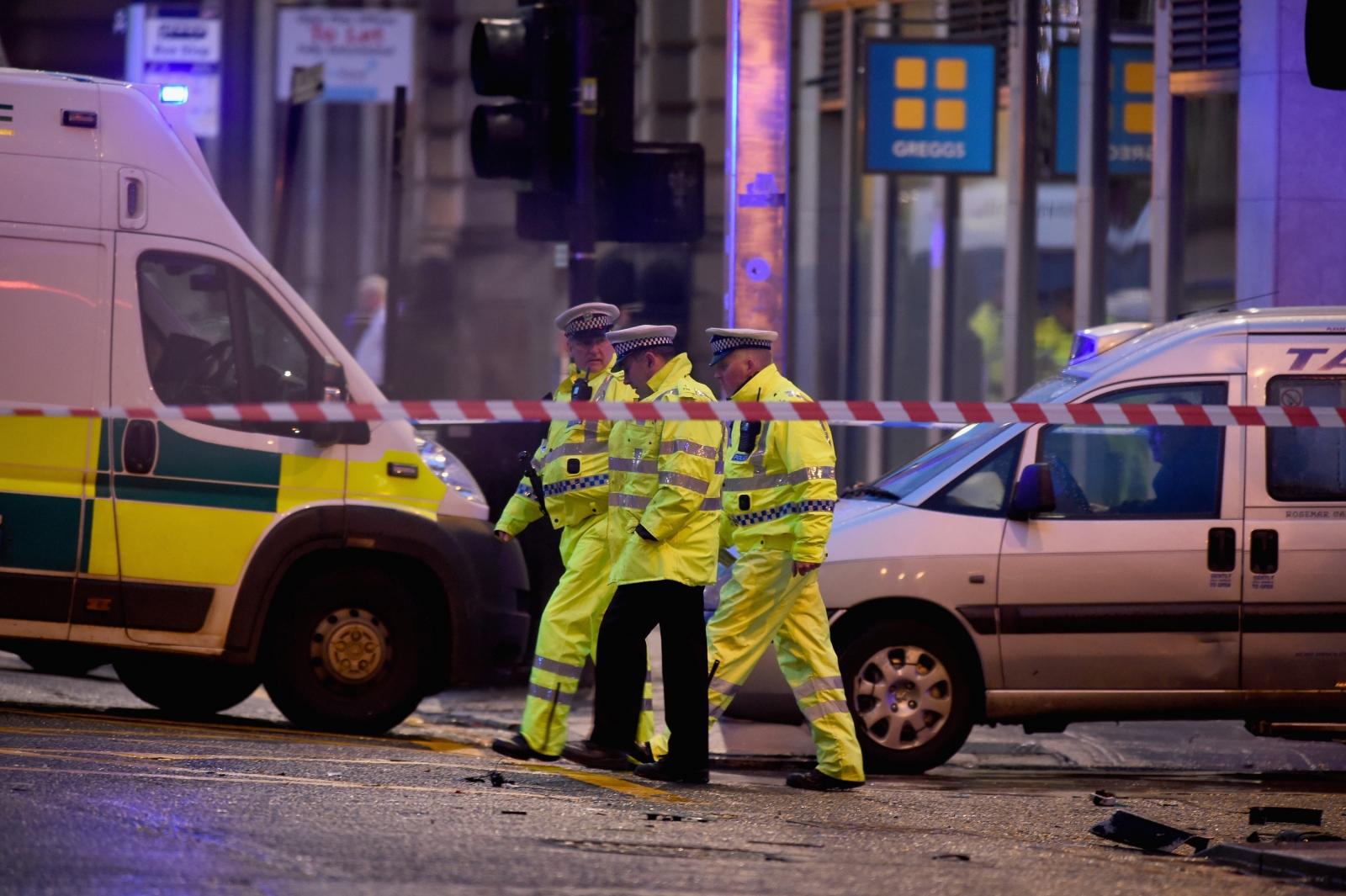 Bin lorry crash in Glasgow brings city-centre to a standstill