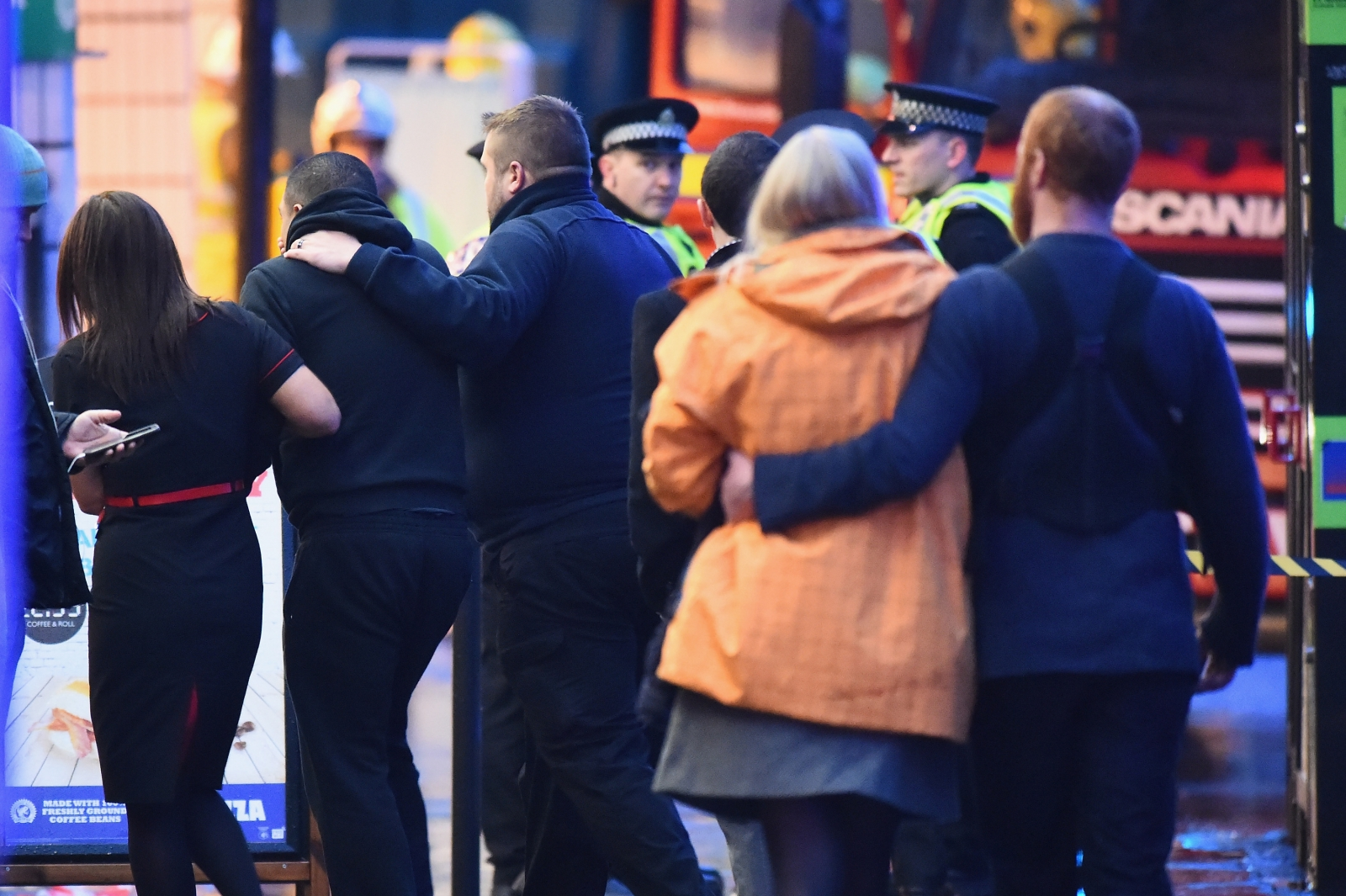 Glasgow lorry crash witness describes scene