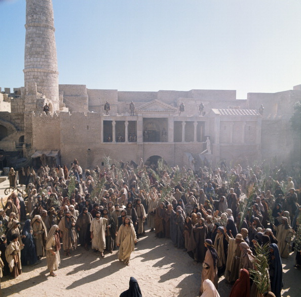Still from 1977 film Jesus of Nazareth (NBC)