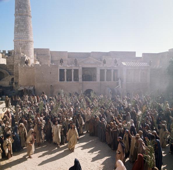 Still from 1977 film Jesus of Nazareth (NBC)