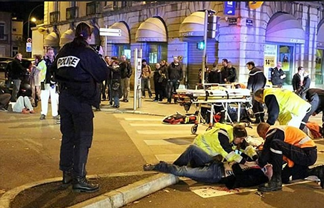 A van ploughed into Christmas Market crowds in Nantes, France