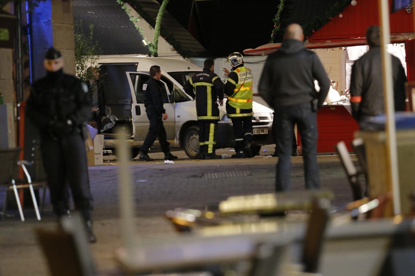 Nantes Christmas market attack