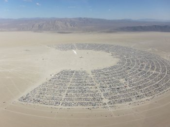 burning man bitcoin