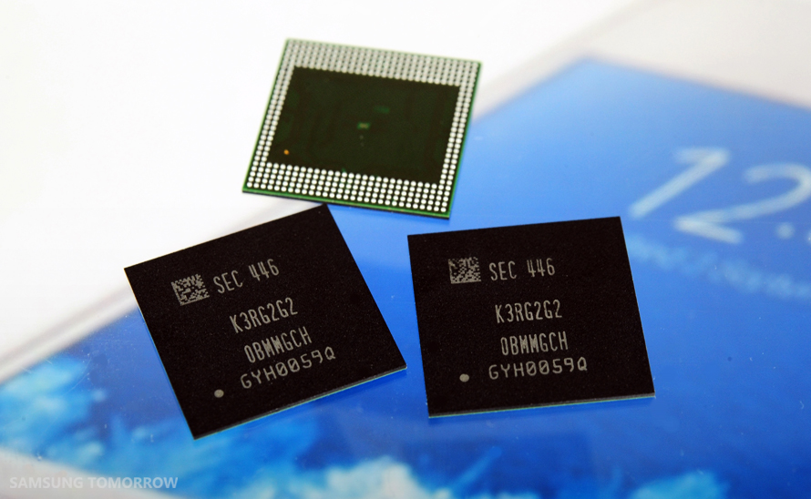 8Gb LPDDR4 Mobile DRAMs officially enter production, expected to be commercially available next year