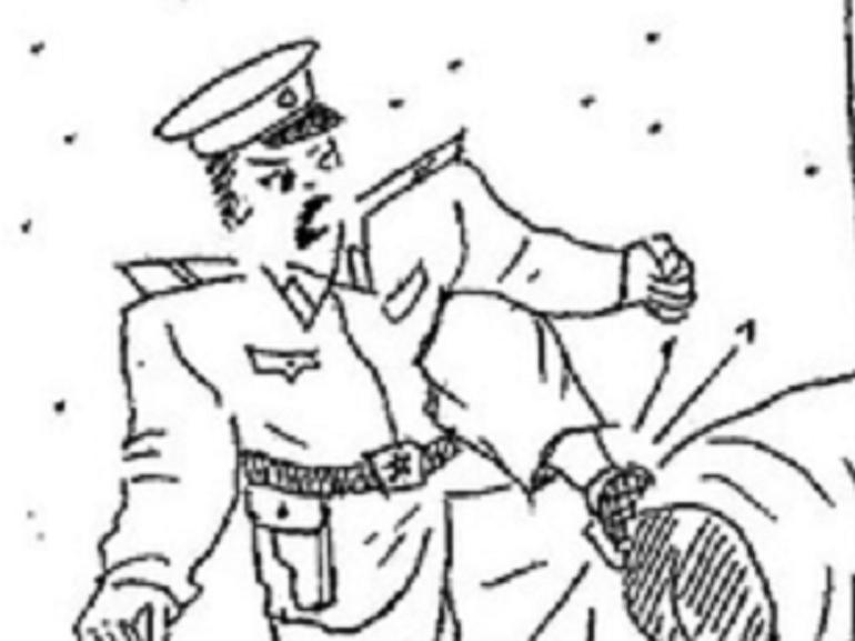 Cartoon violence illustrating the brutal methods of North Korea upon prisoners is no laughing matter