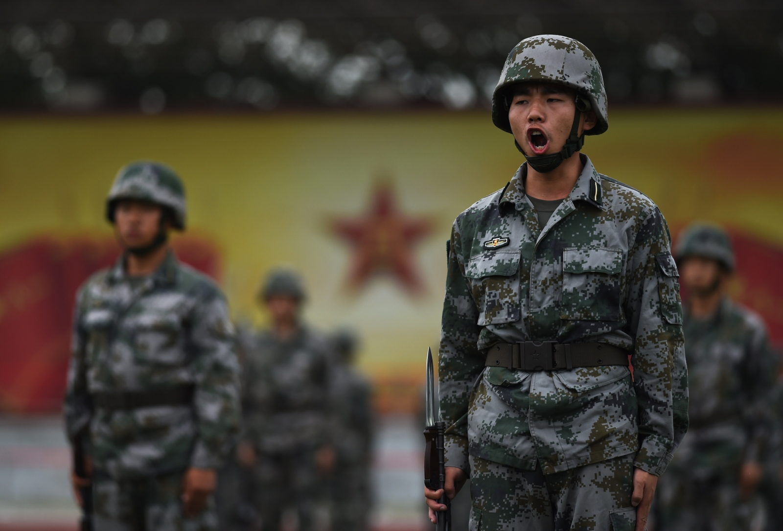 Cdets of the People's Liberation Army (Getty)
