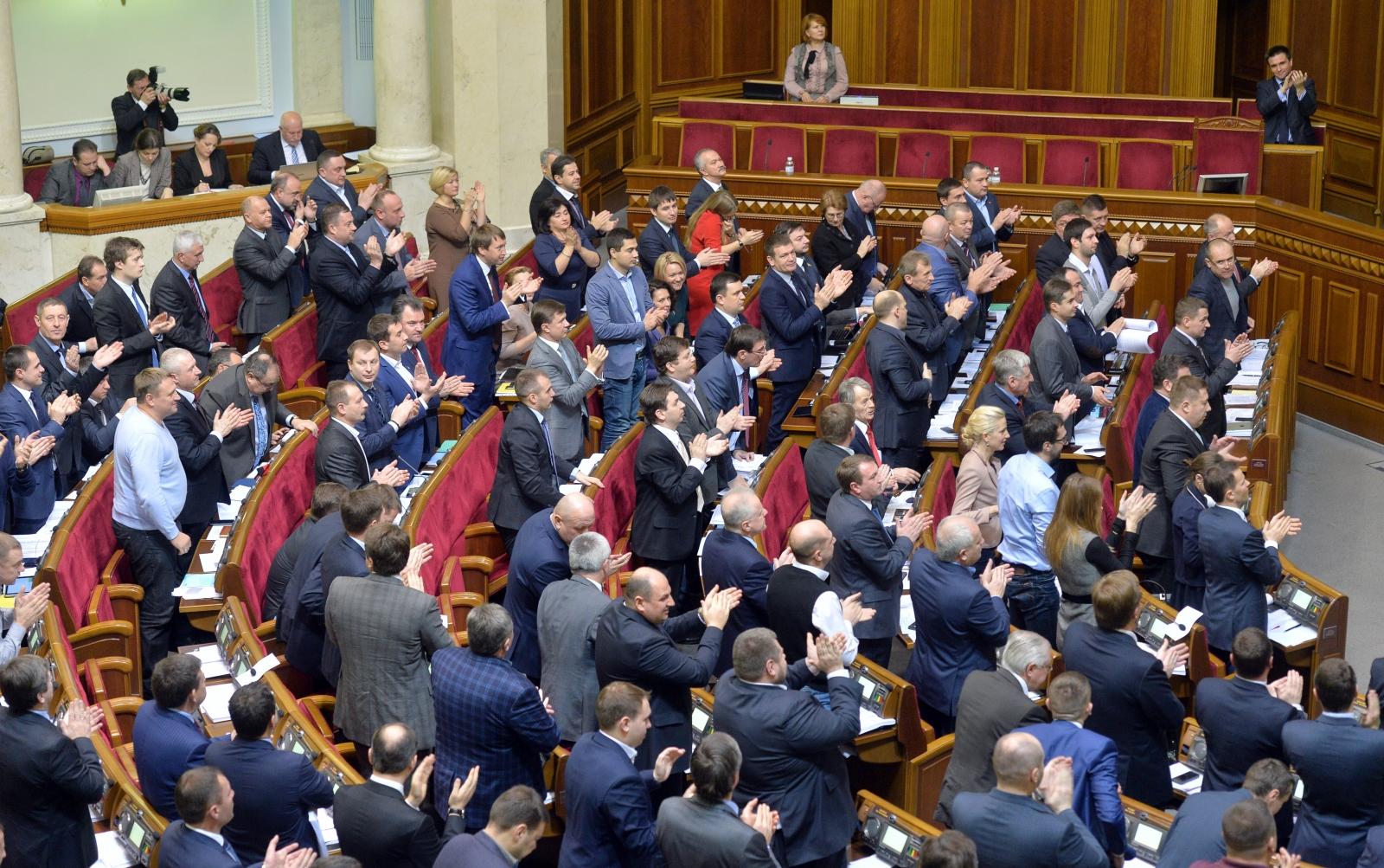 Ukraine Nato Non-aligned status vote kiev