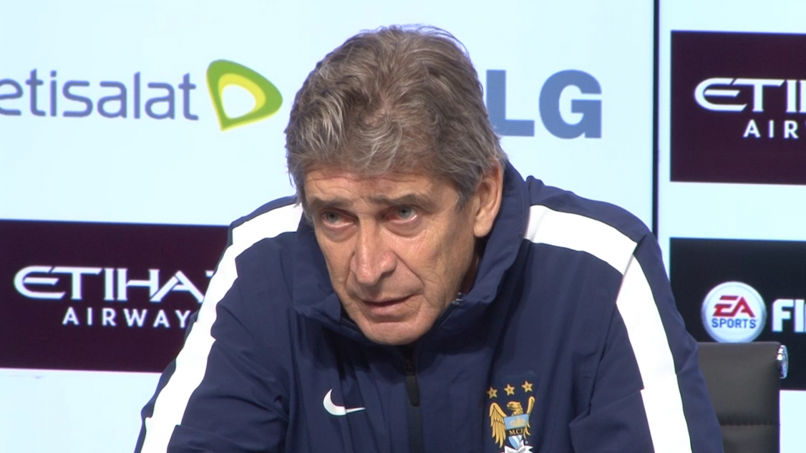 Manuel Pellegrini: We are not thinking about Chelsea
