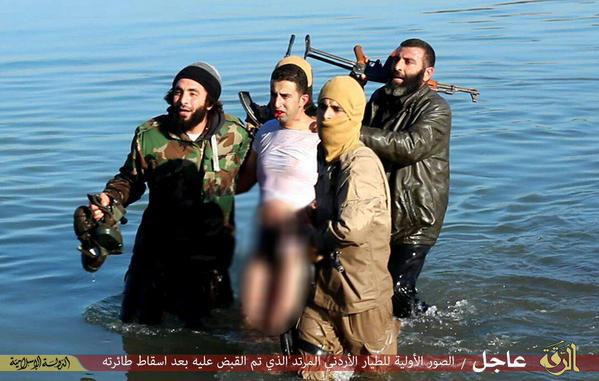The pilot 26 was captured by the islamist militants in december as