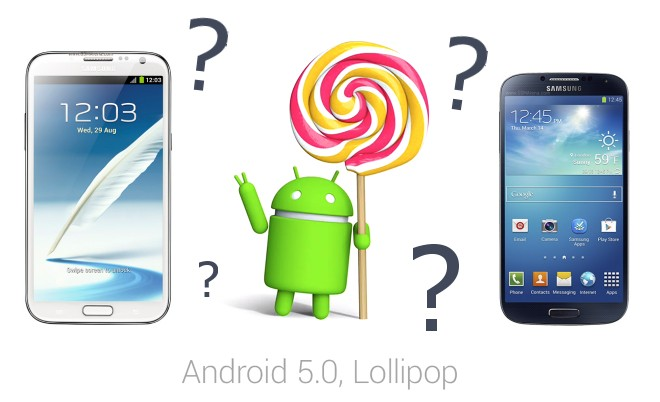 Samsung confirms Android 5.0 Lollipop update for Galaxy S4, Note 2 and Note 3