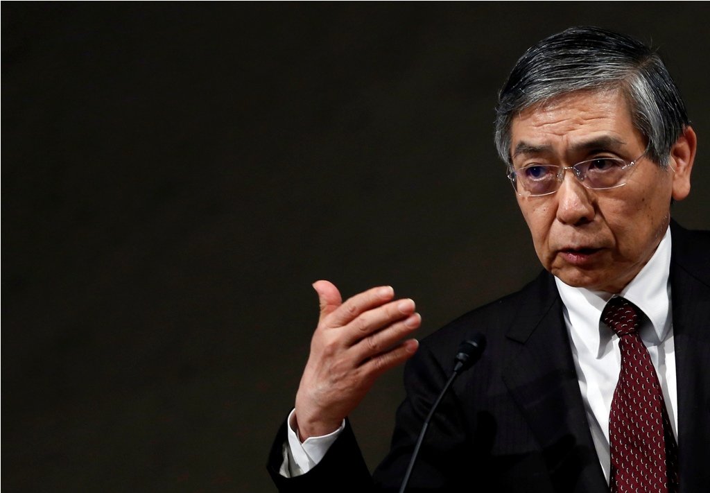 BoJ Chief Haruhiko Kuroda