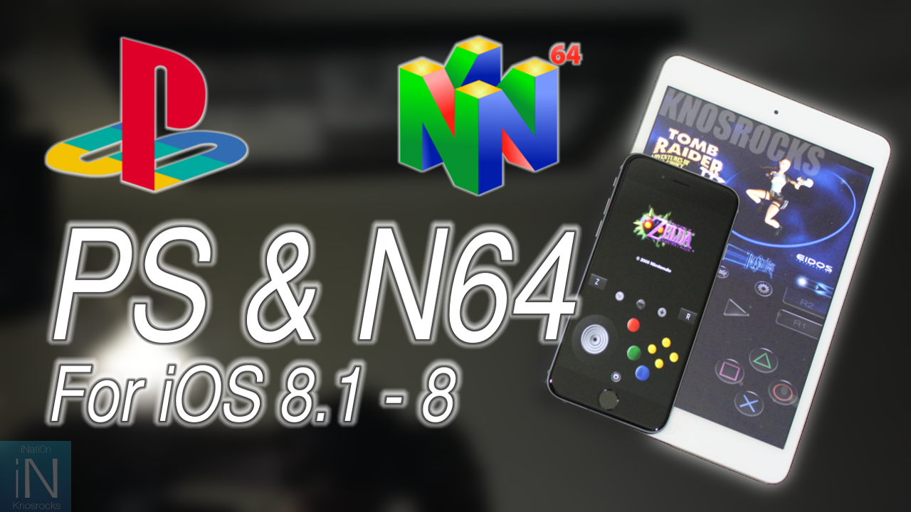 How to Install PlayStation and N64 Emulator to play console games on iPhone, iPad or iPod Touch