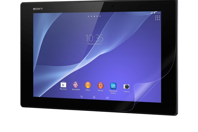 Large screen tablet