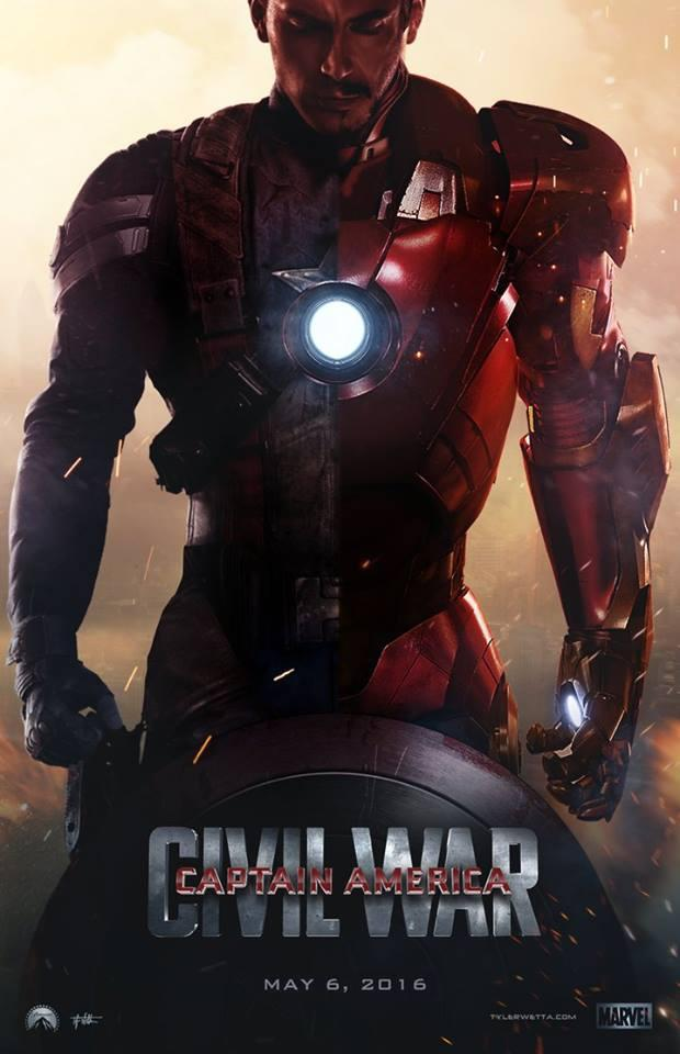 captain america 3 civil war first trailer release update and best fan made first look posters. Black Bedroom Furniture Sets. Home Design Ideas