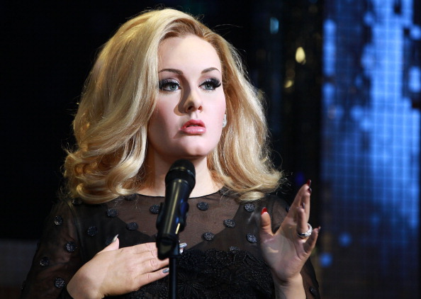Singer Adele's new waxwork is unveiled at Madame Tussauds
