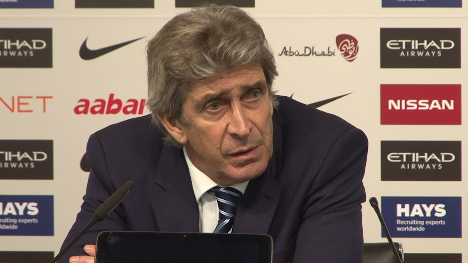 Manuel Pellegrini rues dropped points against Burnley