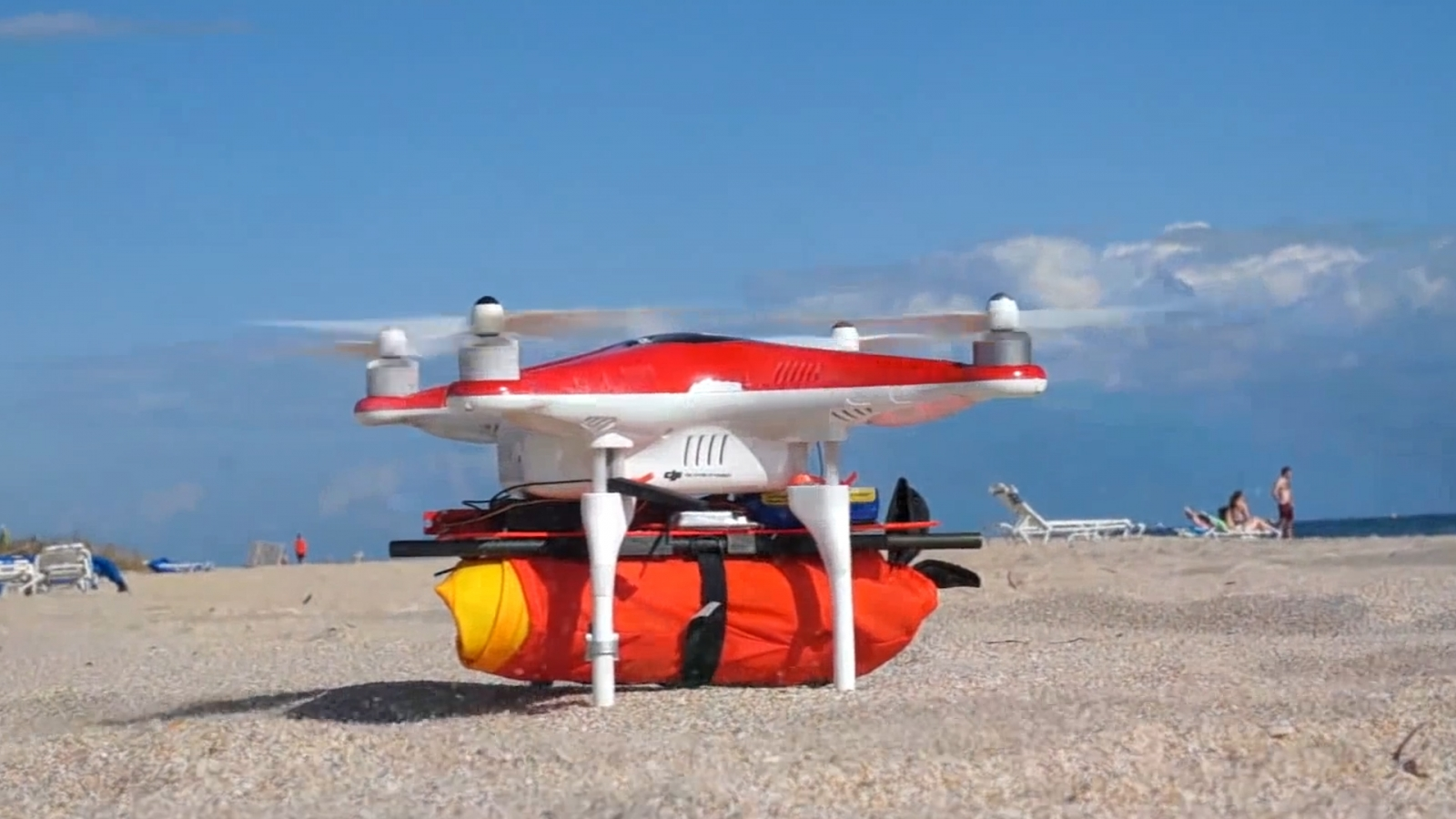 Project Ryptide: The drone that could save you from drowning