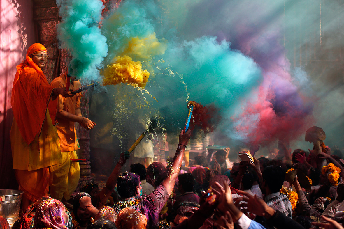 Pictures of the year: festivals