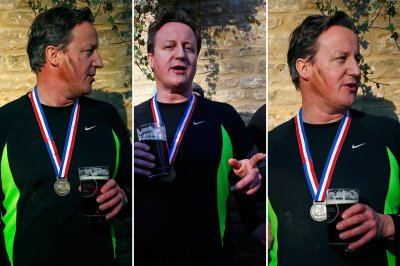 David Cameron Great Brook Run