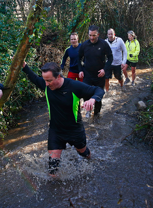 David Cameron Great Brook Run