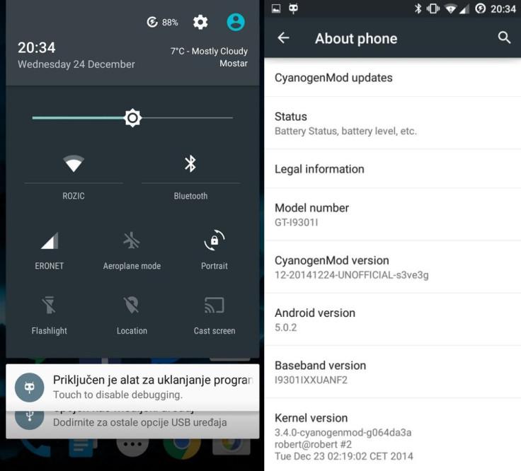 Galaxy S3 Neo