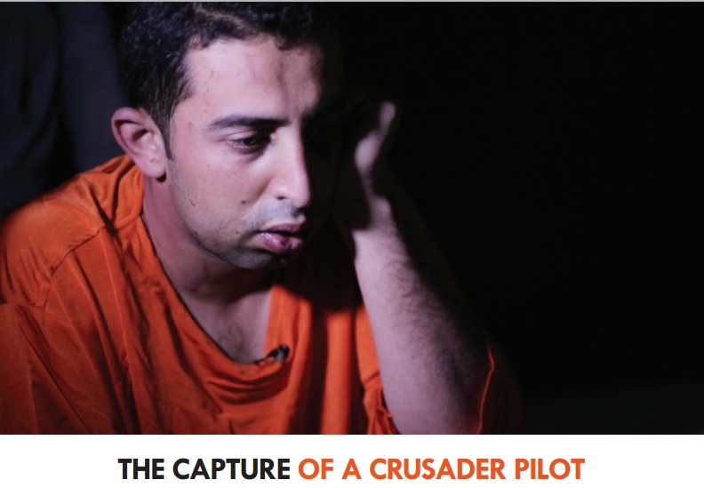 Muadh al-Kasasibah, a Jordanian pilot, who has been captured by Islamic State