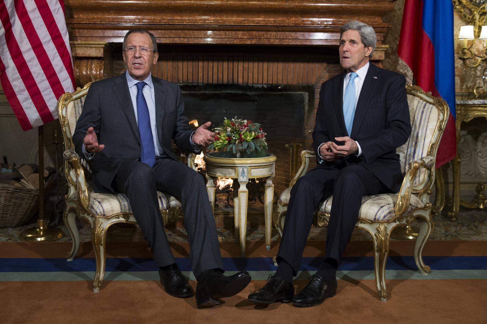Sergei Lavrov John Kerry