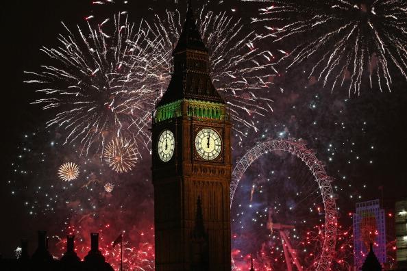 New Year Fireworks london