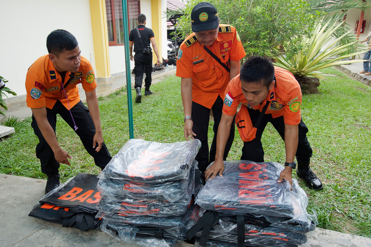 AirAsia Flight QZ8501 body bags