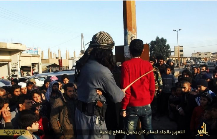 Isis Militants Flog Man For Watching Porn In Syria-4046
