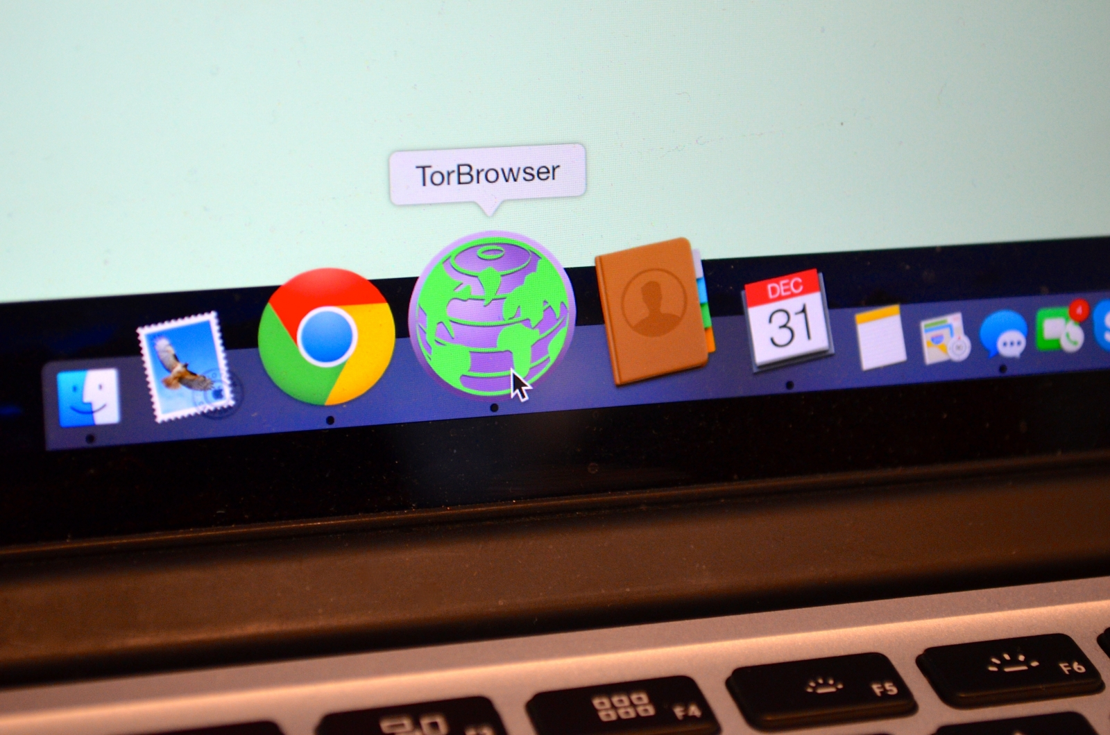 Tor dark web browser